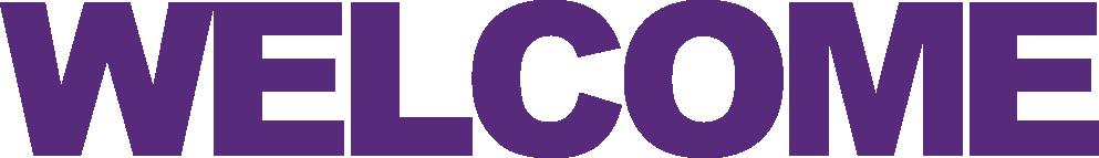 Welcome Purple