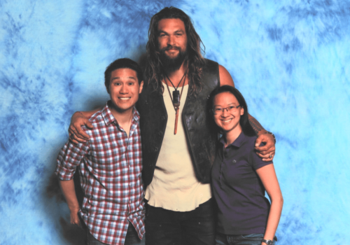 Jason Momoa Star of Aquaman and Game Of Thrones