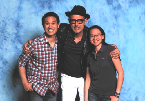 Jeff Goldblum Star of Jurassic Park & Thor Ragnarok
